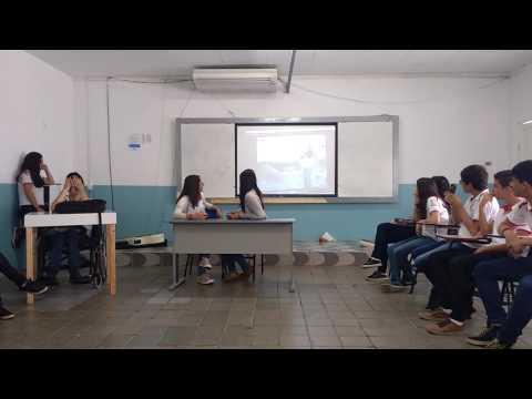 "2°ano Diocesano-BJ  Apresentando Um Tele Jornal Sobre ""o Vaso Chinês"" -Parnasianismo"