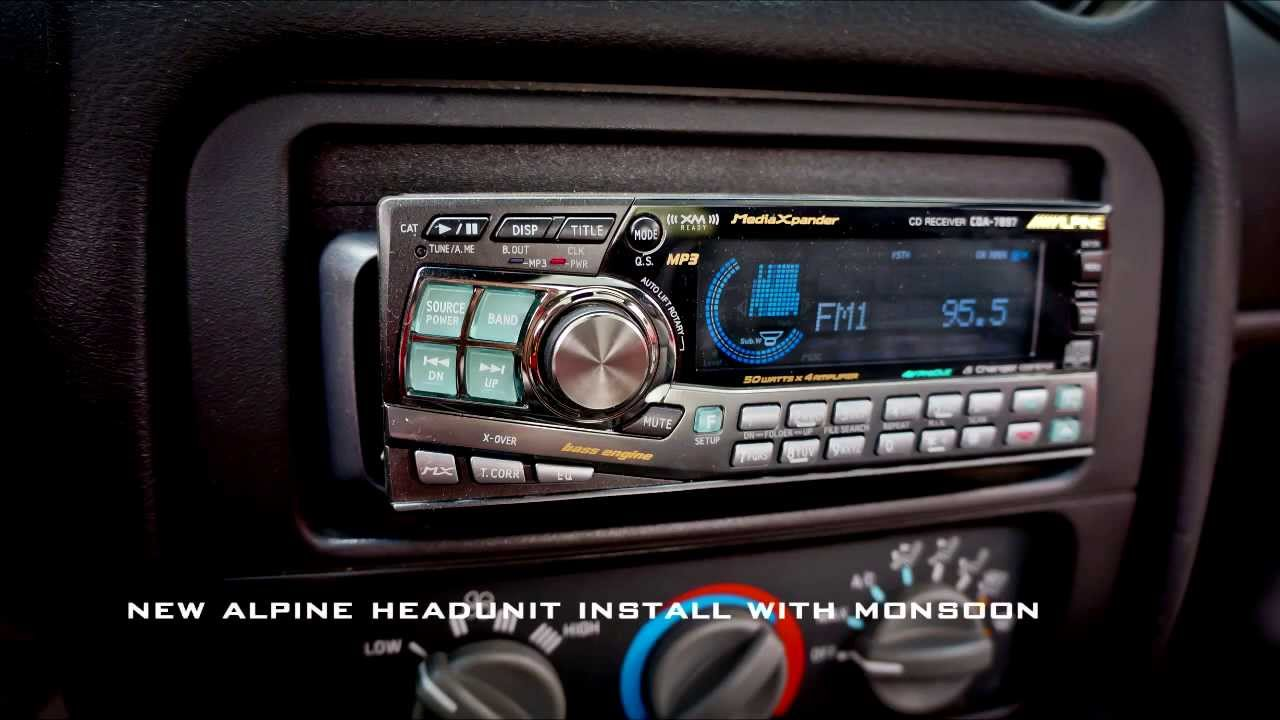 maxresdefault trans am ws6 with monsoon alpine radio head unit install few