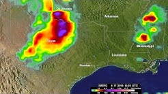 Heavy Rainfall Seen in Texas