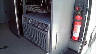 Sprinter van air conditioner split unit conversion diy custom