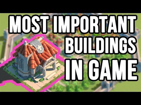 5 Most Important Buildings in RoK | Rise of Kingdoms