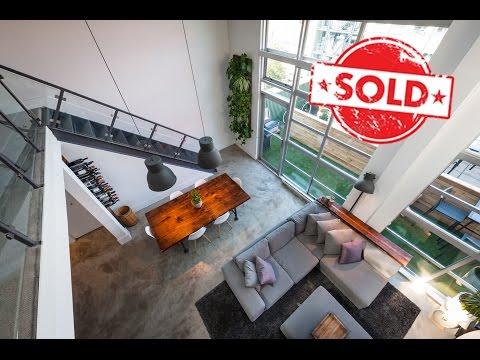 SOLD - Vintage Modern Loft For Sale - Mt Pleasant Vancouver, BC