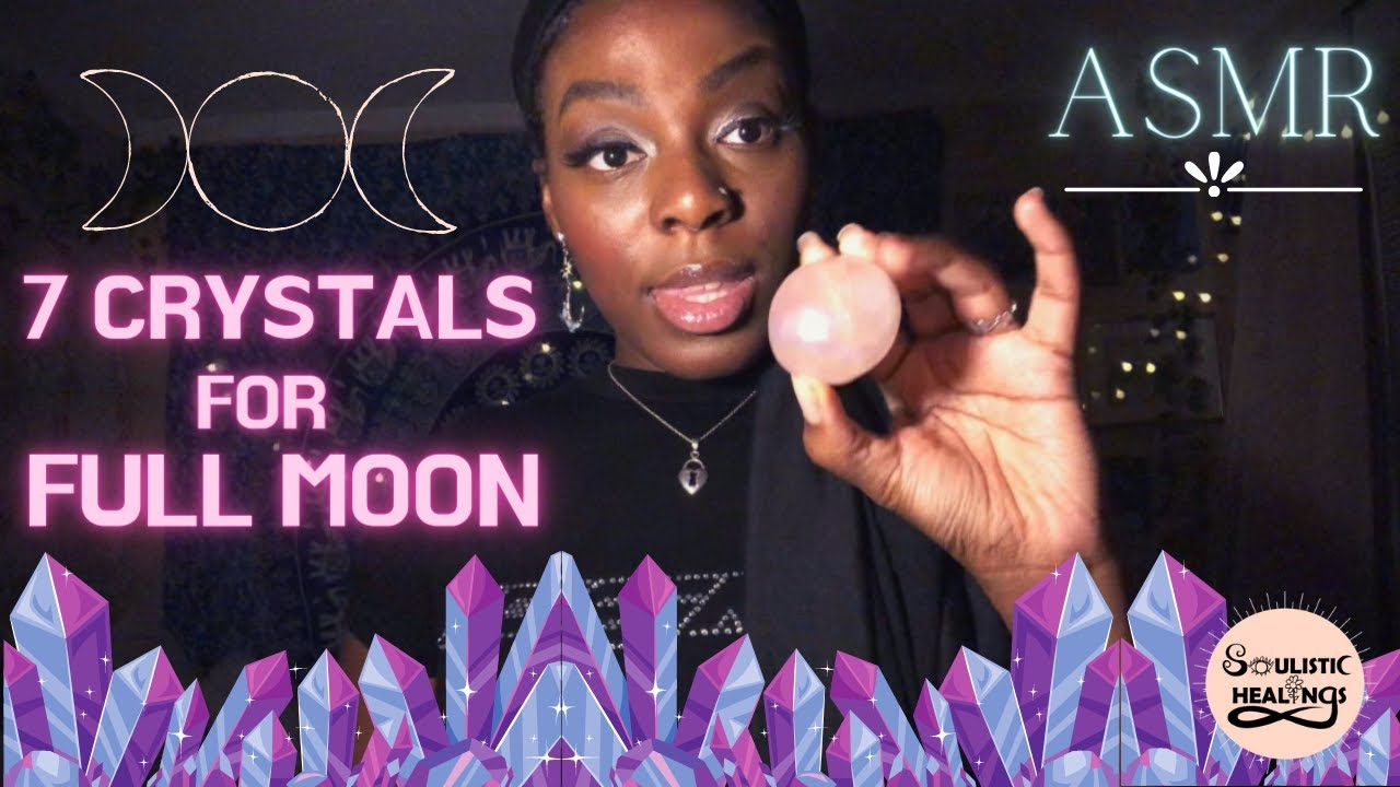 Crystals Perfect for the Full Moon
