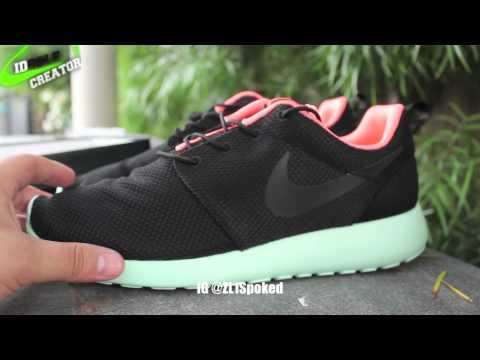 detailed look 723f8 cd4dc Nike Roshe Run ID Solar Red IDSolecreator  HD  - YouTube