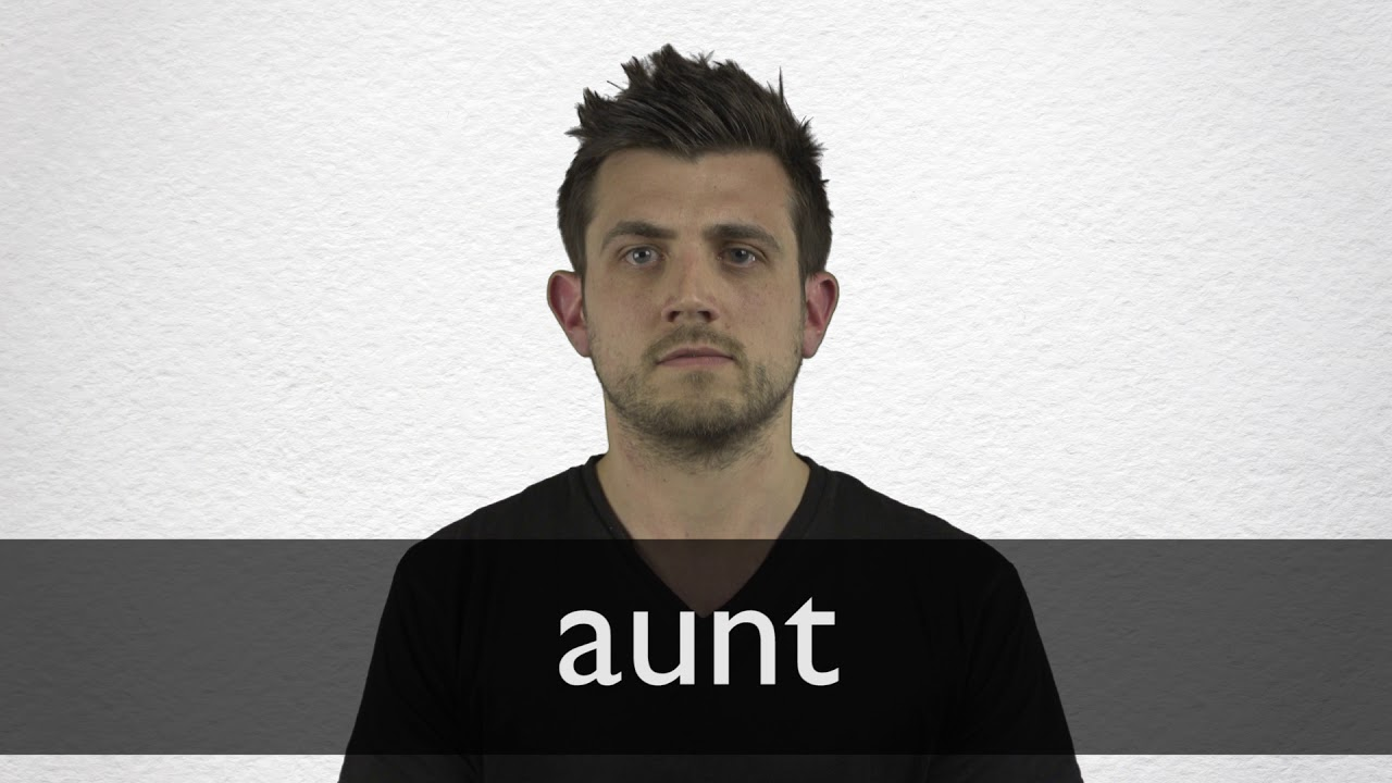 How to pronounce AUNT in British English