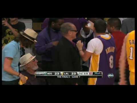 Jack Nicholson's Son Gets Ran Over By Kevin Garnett - NBA ...