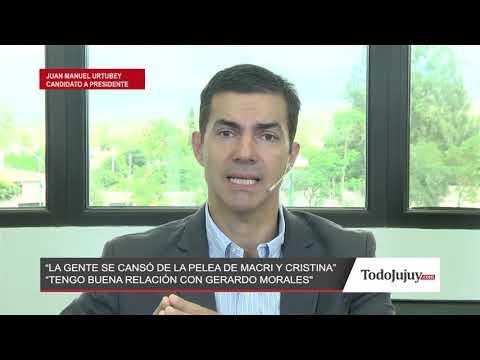 Juan Manuel Urtubey: Argentina se cansó de las peleas entre Macri y Cristina