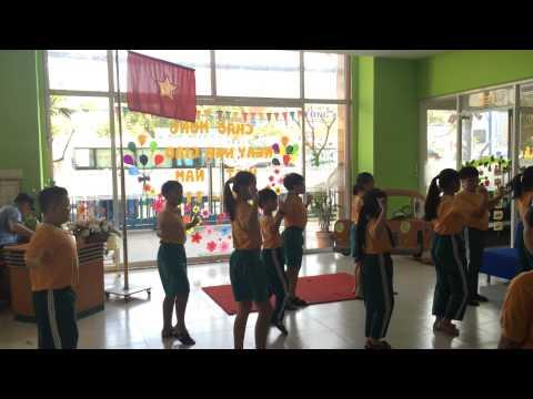 Mái trường nơi em học bao điều hay - trường Mầm non - Tiểu học Anh Việt Mỹ