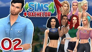 DIE SIMS 4: BACHELOR #02 DAS ERSTE GRUPPENDATE :O ☆ Let's Play
