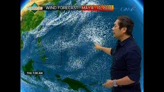 UB: Weather update as of 6:07 a.m. (May 8, 2018)