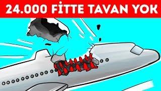 Bir Uçak Tavanını 24.000 Fitte Kaybetti Ama Yere İnmeyi Başardı