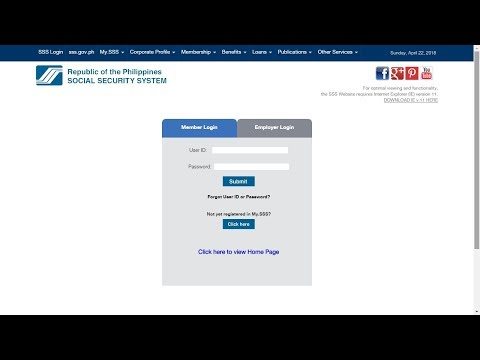 How to Get SSS Number Online
