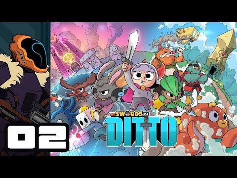 Let's Play The Swords of Ditto - PC Gameplay Part 2 - The Ol' Classic Mirror Fight