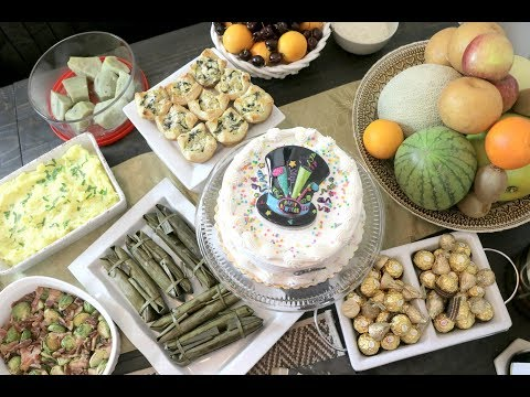 PAMPASUWERTE SA 2019 + NEW YEARS EVE DINNER | FILIPINA MEDIA NOCHE FOOD IDEAS