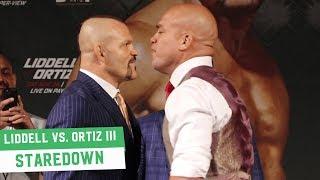 Chuck Liddell vs. Tito Ortiz III Staredown