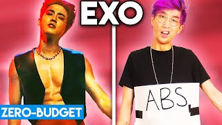 K-POP WITH ZERO BUDGET! (EXO - Obsession)