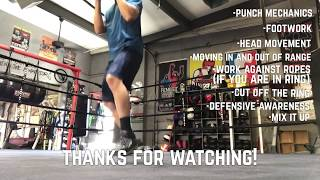 How to Shadowbox for Boxing/ MMA