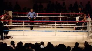 川口勝太(赤)vs磯野紘輔(青)(1~2R)2014.10.13