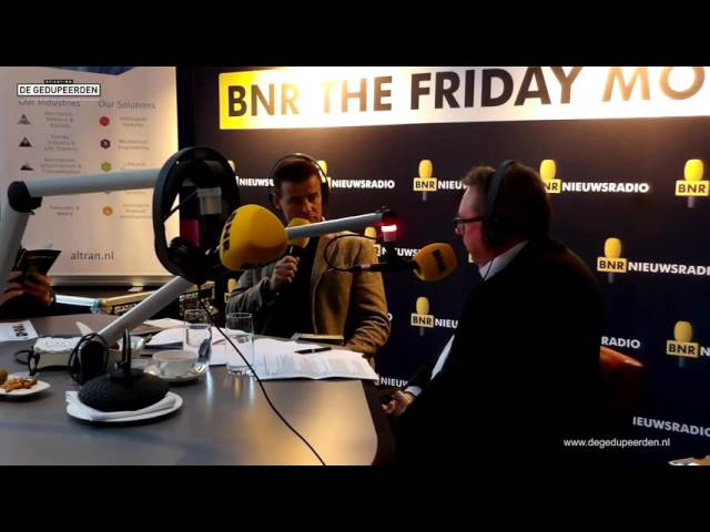 Theo Terdu (stichting de gedupeerden) op BNR The Friday Move (radio interview)