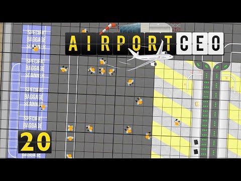 Airport CEO | Profi Gepäck Scan Station ► #20 Flughafen Bau Management Simulation deutsch german