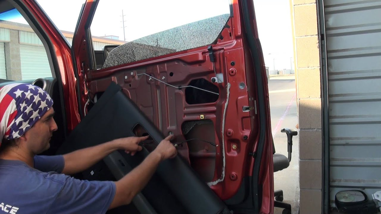 How To Replace A Window In A 2005 Honda Element Youtube