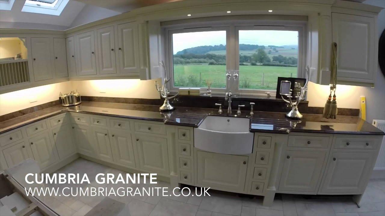 Superbe Cumbria Granite   Labrador Antique Granite   YouTube