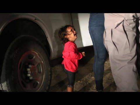 Trump blames Democrats for separation of migrant families
