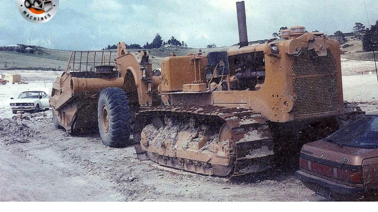 Classic tractors: Cat's D9