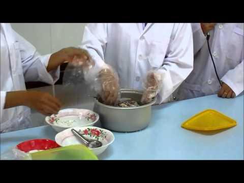 การสาธิตการทำส้มหมู SRRU