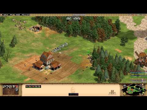 Age of Empires 2 HD let's play Barbarossa mission 1 Holy Roman Emperor