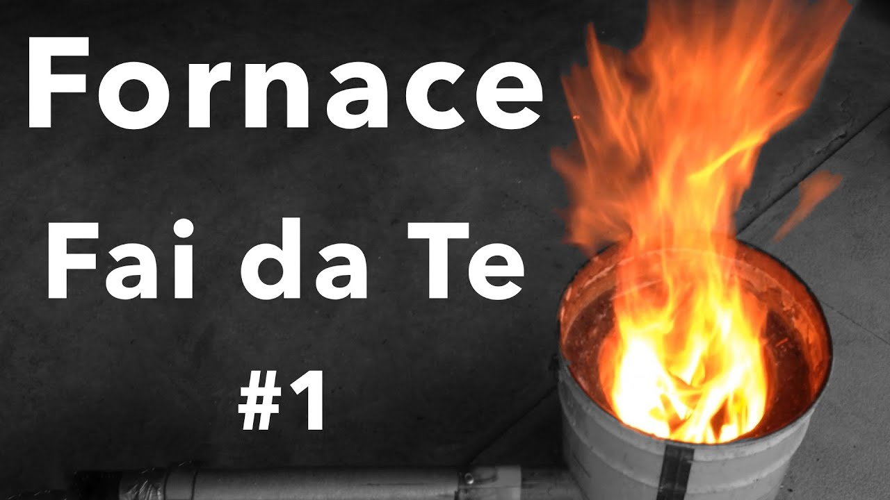 Fornace a carbone fai da te tutorial 1 youtube for Pistone idraulico fai da te