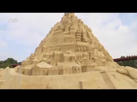 Dünyanın ən Hündür Qum Qəsri
