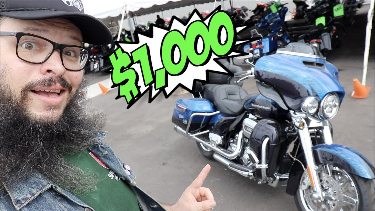 I found the CHEAPEST motorcycle at the Harley Davidson dealership