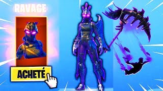 """NEW SKIN """"RAVAGE"""" WITH THE PIOCHE """"BEC OF FER"""" on Fortnite!"""