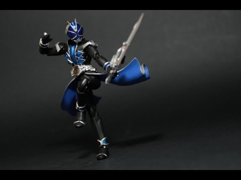 toy review s h figuarts kamen rider wizard water style youtube