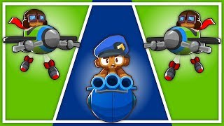 Unleashing The Power Of Military Commander Challenge in Bloons TD 6