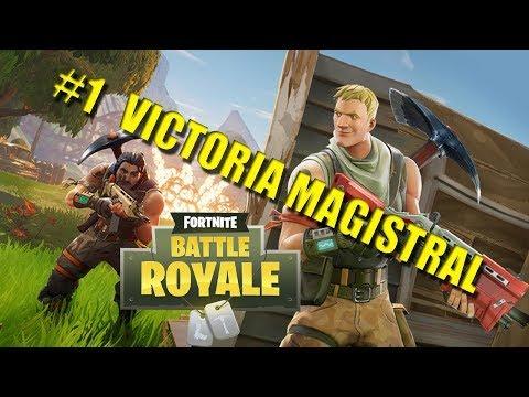 Fortnite|Otra Victoria en Solo!!!