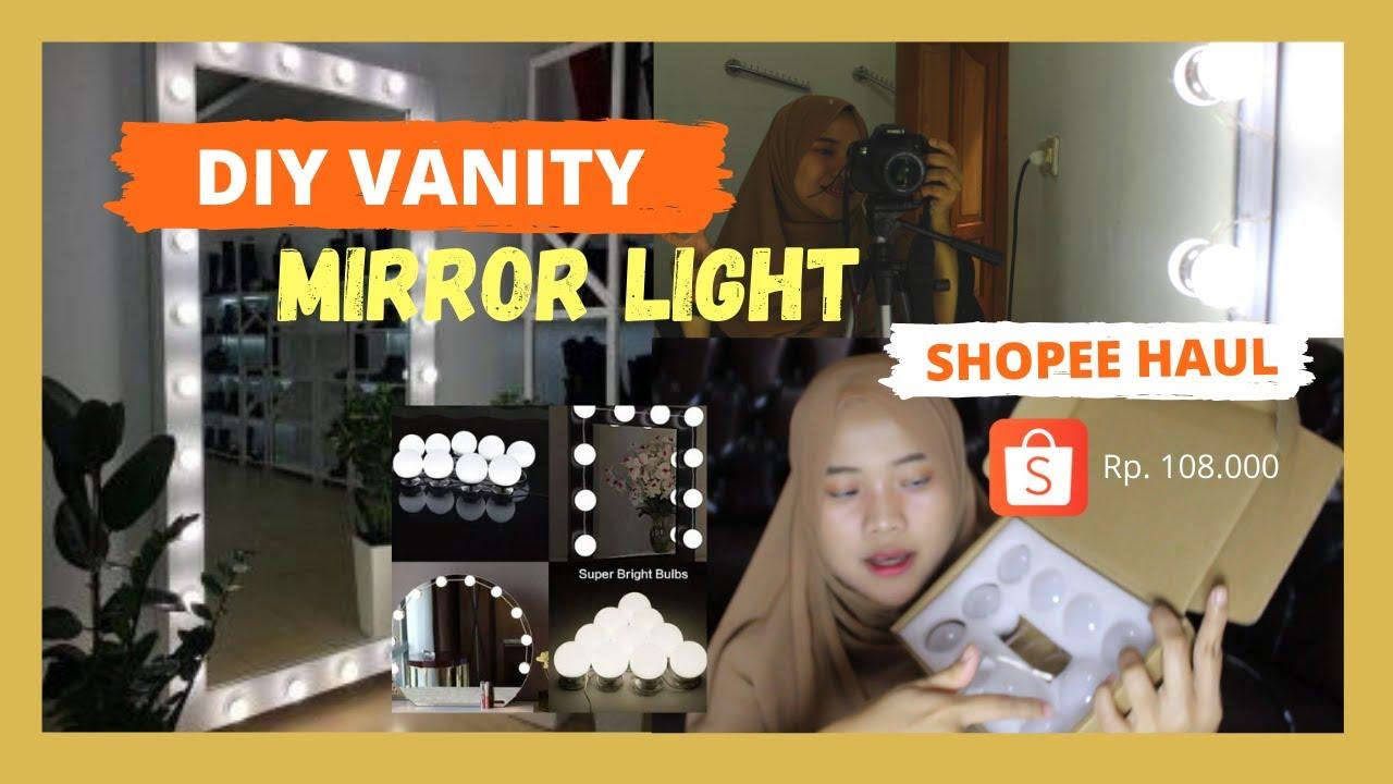 DIY VANITY MIRROR FULL BODY Harga LOW BUDGET!!! | MEJA ...