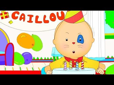 Caillou En Español | De Cumpleaños De Caillou | Dibujos Infantiles Capitulos Completos | NUEVO