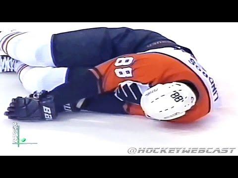 Scott Stevens DESTROYS Eric Lindros - ECF 2000 (Full Incident)