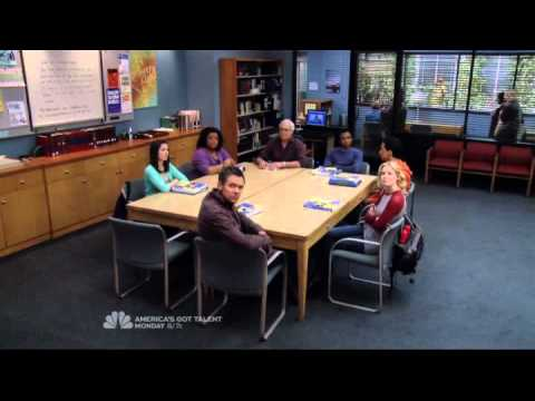Community S03E19 Dean sings over the PA about the group  Just a few of the most special students in the world
