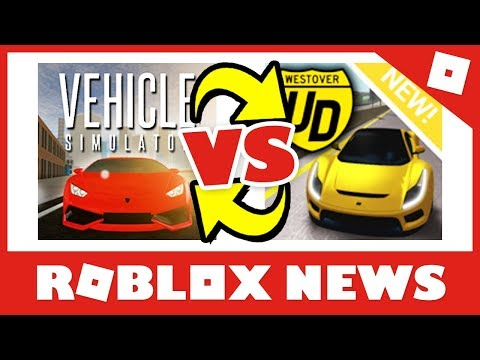 Vehicle Sim VS Ultimate Driving! | Roblox Dev BEEF! #RobloxNews