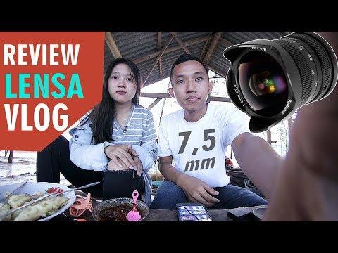 📸 LENSA WIDE TERMURAH CANON EOS M50 / M10 / M3 REVIEW 7Artisan FISHEYE 7,5 MM F2.8 Indonesia
