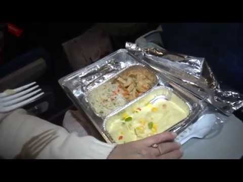 Air Arabia meal on board