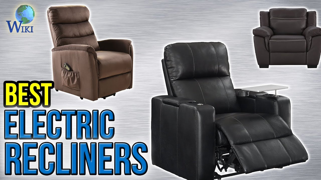 Electric Recliner Leather Chairs 9 Best Electric Recliners 2017