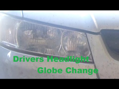 Holden VZ Commodore Replace Drivers Headlight Globe (VT VX VY?) HD