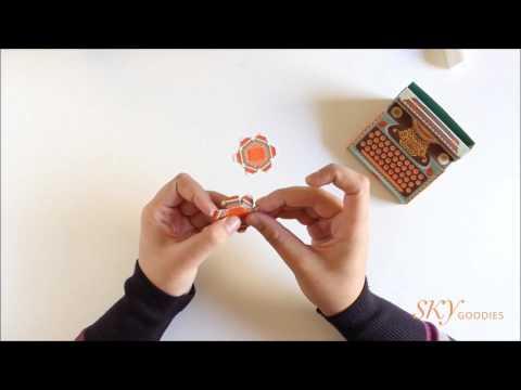 How to make the Sky Goodies DIY Typewriter Calendar: Papercraft Tutorial