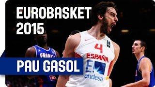 Pau Gasol (40 Points, 11 Rebounds, 3 Blocks) v France - EuroBasket 2015 thumbnail