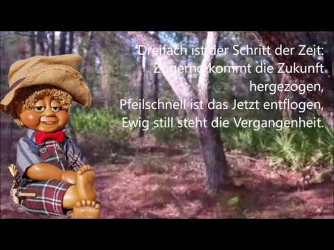 Die Zeit  Vers 1  german language