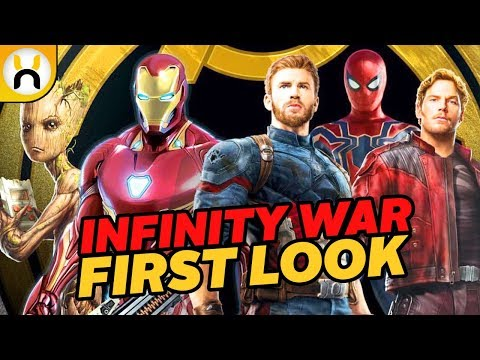 Avengers Infinity War FIRST LOOK Promo Art